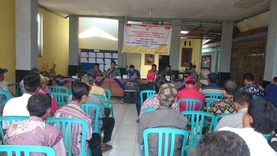 BPD Desa Rembul Bentuk Panitia Pemilihan Kepala Desa Rembul