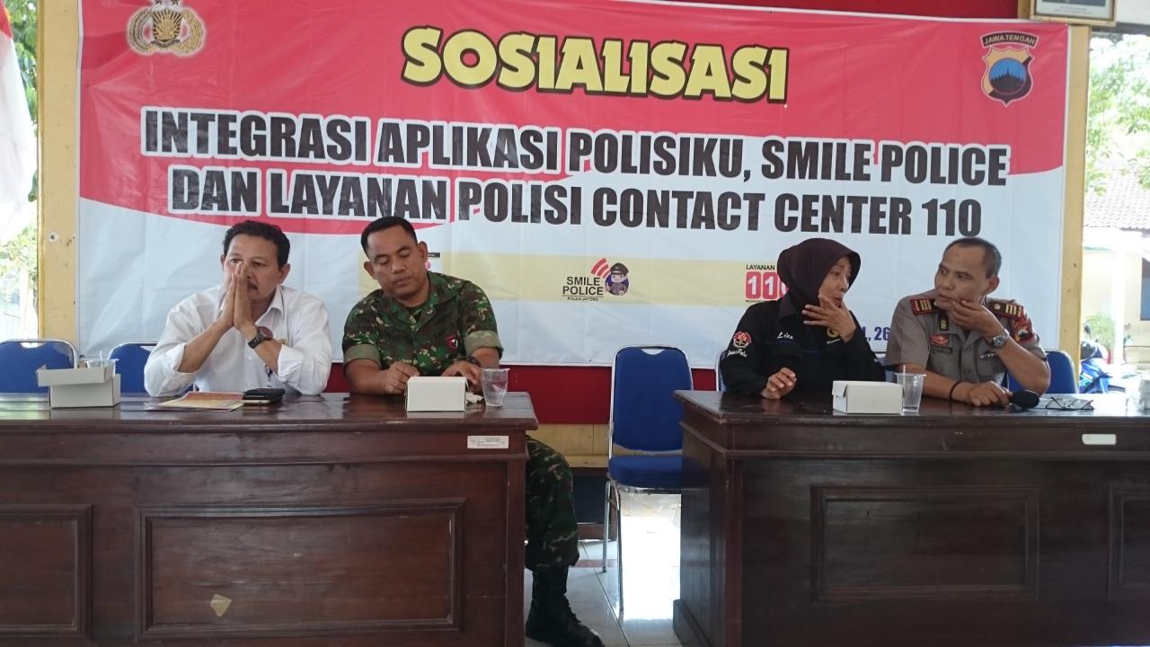 Smile Police, Sistem Pelayanan Polda Jateng Berbasis IT