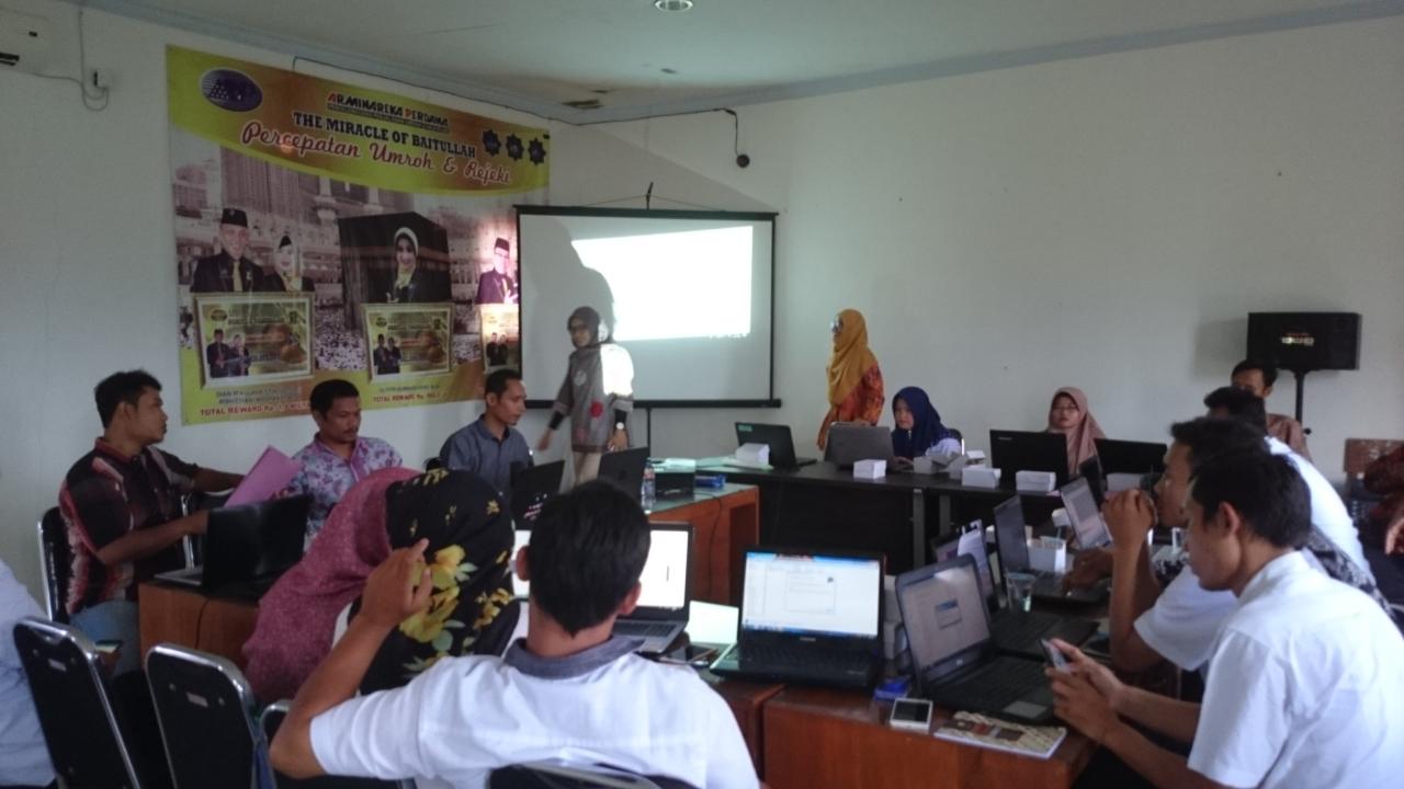 Puspindes Adakan Pelatihan Dasar Pembuatan Peta Desa di Kecamatan Randudongkal