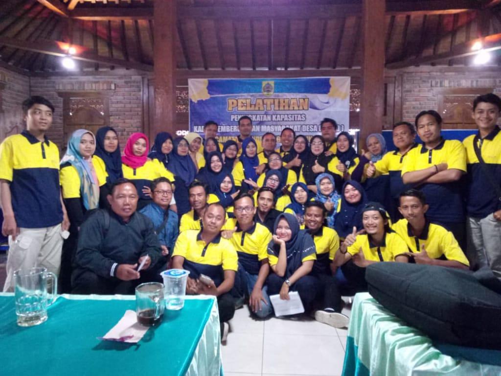 Pelatihan Peningkatan Kapasitas Kader Pemberdayaan Masyarakat Desa Kecamatan Randudongkal 2018