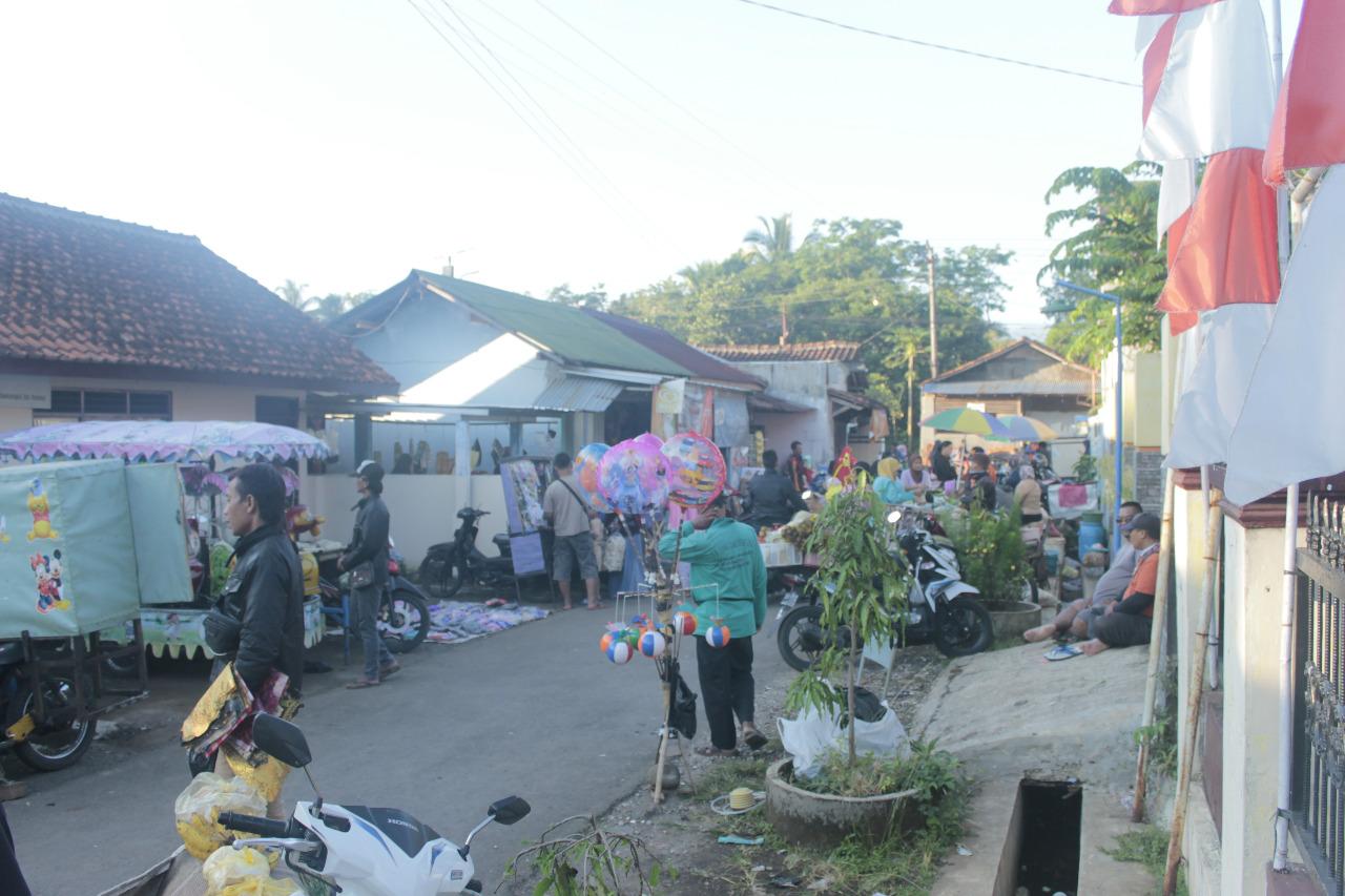 Suasana Pasar Petapean 9 Hari Jelang Lebaran